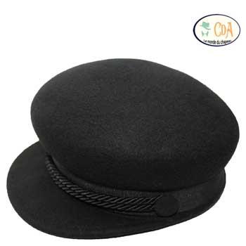 casquette feutre laine