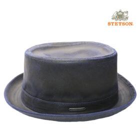 Stetson pork pie coton polyester