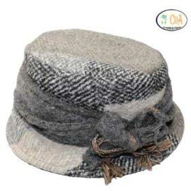chapeau laine petit bord